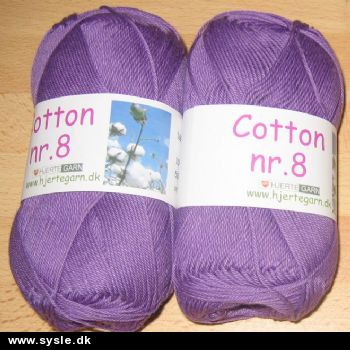 5244 Cotton 8/4 - LILLA 50g 1ng