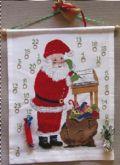 Klik her for at se flere billeder og få mere information om varen:20302 Julekalender - Julemand ved skrivepult - 48x62cm