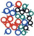 Klik her for at se flere billeder og få mere information om varen:Markeringsringe til strikketøj (åben) 24stk.