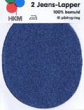 Klik her for at se flere billeder og få mere information om varen:22-13 Jeans Lapper 9½x12cm Kobolt blå - 2 i pk.