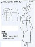 Klik her for at se flere billeder og få mere information om varen:9227 BK easy kids - Cardigan/tunika (børn)