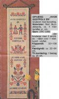 Klik her for at se flere billeder og få mere information om varen:Hv 16-80-51(2) Mønster: Broderimønster, Hvor Godtfolk er... *org*