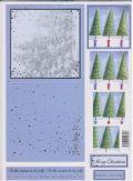 Klik her for at se flere billeder og få mere information om varen:0942 - 3D Pyramide Tryk ud - Grantræer - 1 kort+kuvert